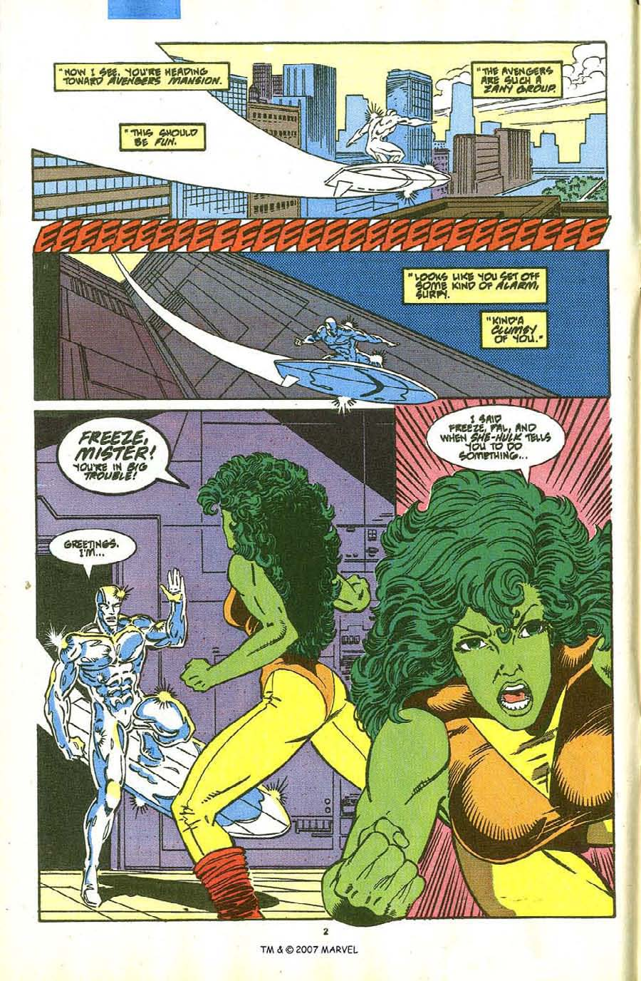 Read online Silver Surfer (1987) comic -  Issue #36 - 4