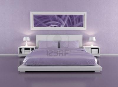 trendy chambre violet lilas quelques conseils pour bien utiliser le bleu with couleur violet. Black Bedroom Furniture Sets. Home Design Ideas