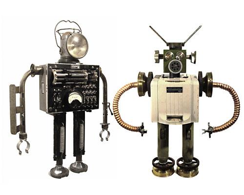 Андройные роботы (i-Sobot, Bioloid Premium Kit, Robonova-1, RoboBuilder 5710K)