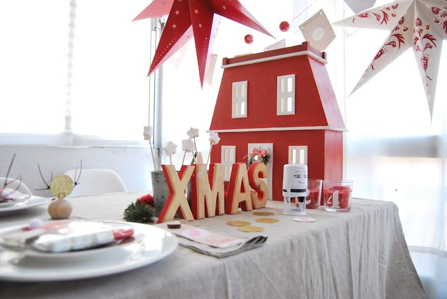 casitas de navidad estilo nórdico diy