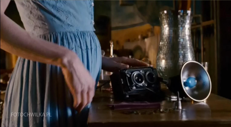 Futro - Portret wyobrażony Diane Arbus. Kadr z filmu. Nicole Kidman.