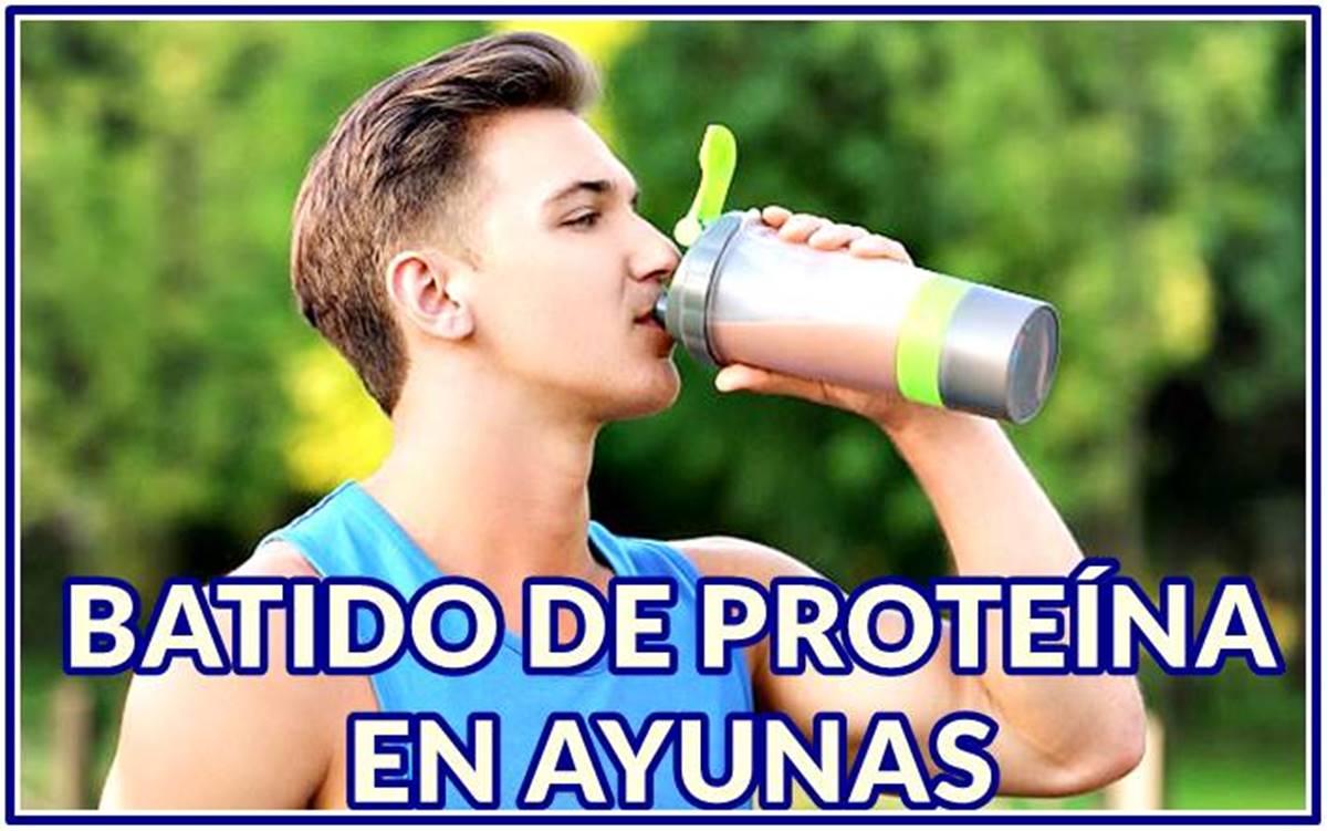 Beneficios de tomar tu batido de proteína en ayunas