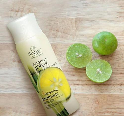 Review Pembersih dan Penyegar Sariayu Jeruk Refreshing Aromatic
