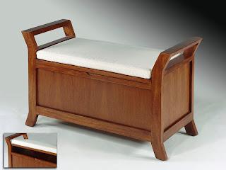 banco recibidor, banco con baul, baul con banco, mueble recibidor, mueble descazadora, banco descazadora