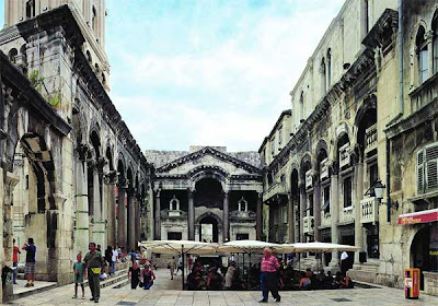 Diocletian's palace gets laser facelift