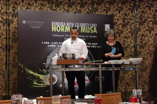 Berbuka with Celebrity Chef Norman Musa at Pullman KLCC, Chef Norman Musa, Eccucino Restaurant, Pullman KLCC, Rendang Beef Wellington, Rendang Scotch Eggs, Carven Ong,