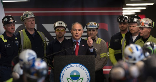 Scientists Just Published an Entire Study Refuting Scott Pruitt on Climate Change