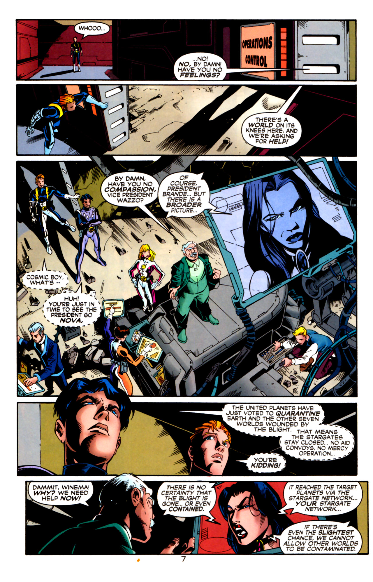 Legion of Super-Heroes (1989) 124 Page 7