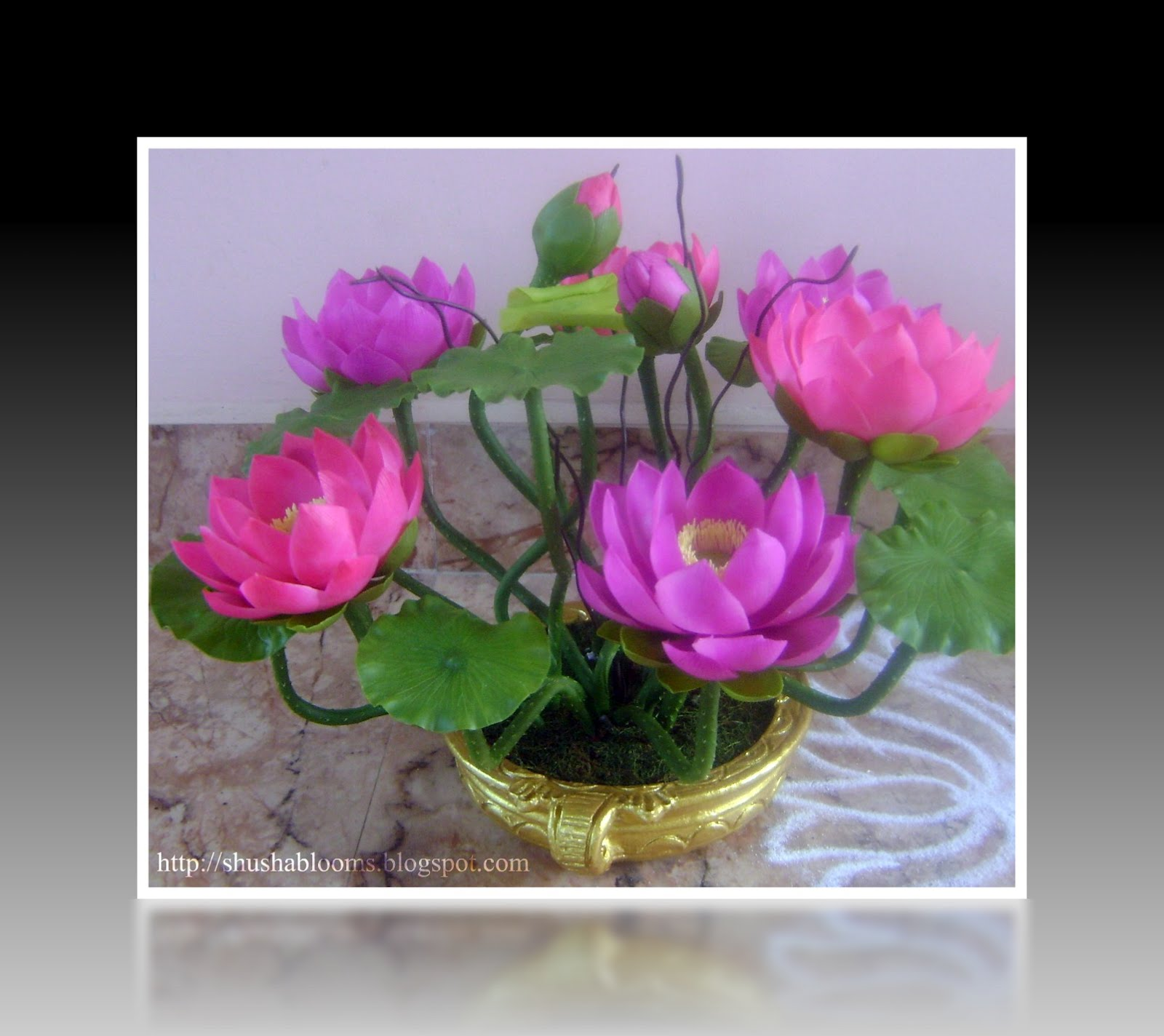 Everfresh Blossoms New Lotus Arrangements With Thai Clay