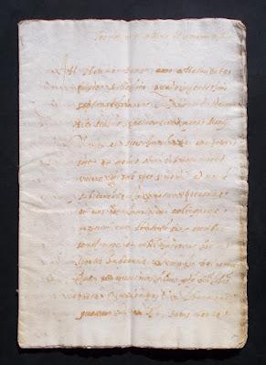 Testamento del 1479 - manoscritto antico originale