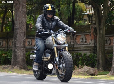 Modifikasi Triumph Bonneville T100