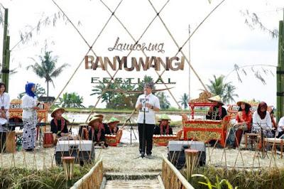 Banyuwangi Festival 2017 resmi diluncurkan.