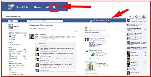 Facebook Log In Logout