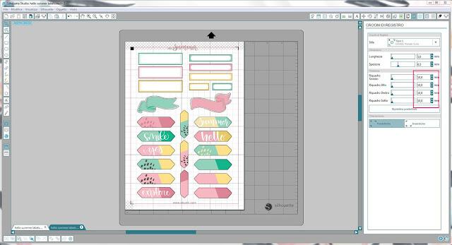 Come utilizzare i file dxf nella modalità Print & Cut | Silhouette Cameo 9