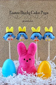Easter Birdy Cake Pops by Pint Sized Baker