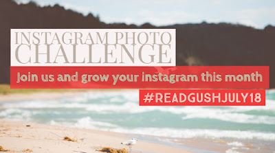 Read and Gush July Bookstagram Photo Challenge