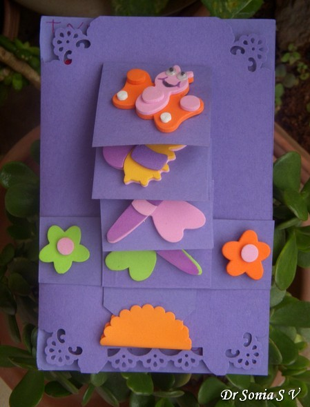 Cards crafts kids projects teachers day card and bookmark teachers day card m4hsunfo