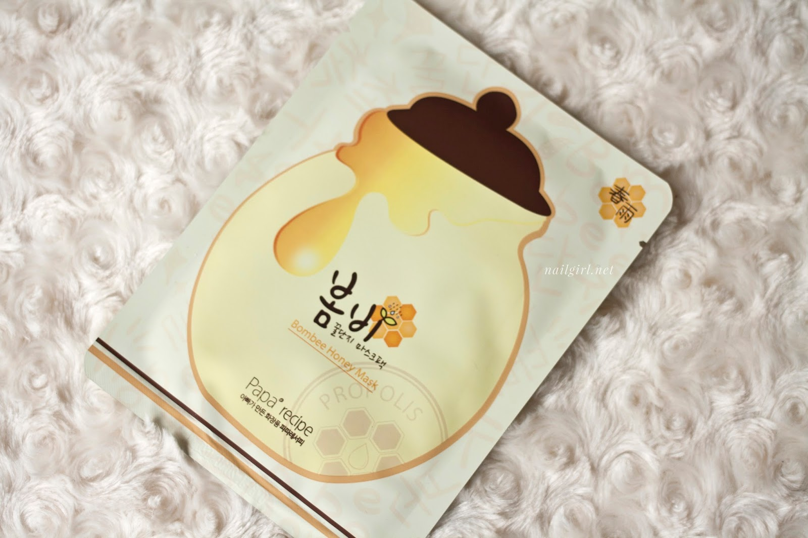 korean cosmetic review papa recipe bombee sheetmask review