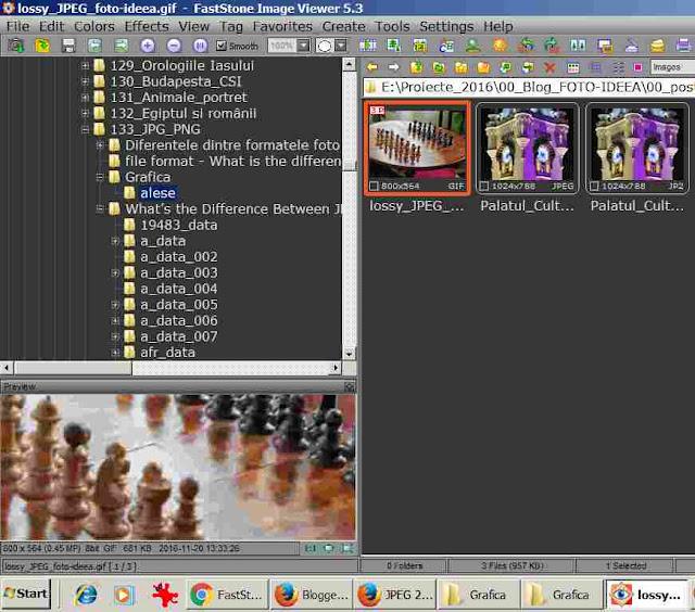 Interfata Fast Sone Image Viewer