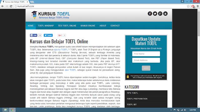 website kursustoefl.com