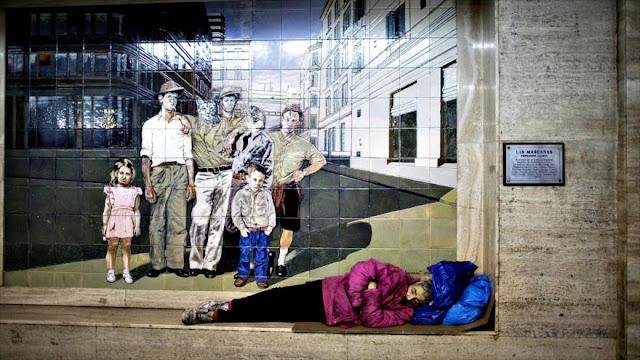 Aumenta un 23% número de personas sin techo en Buenos Aires
