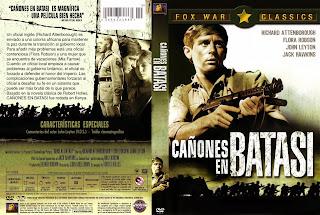 Carátula dvd: Cañones en Batasi