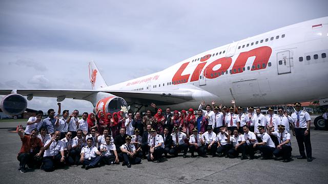 Lion Air Akhiri Pengoperasian Pesawat Boeing 747-400