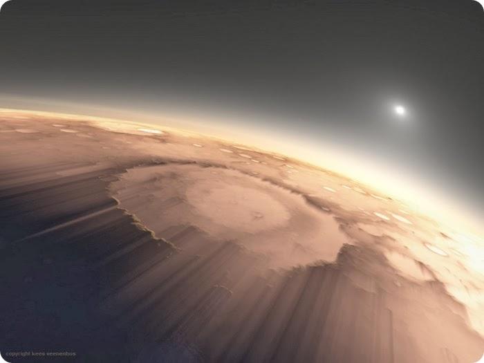 APOD- Sunrise on Mars | Physics-Astronomy