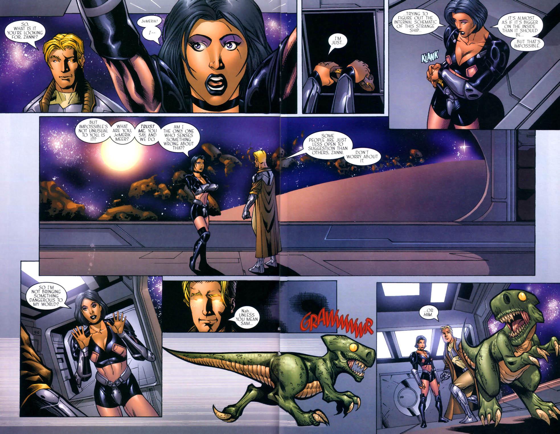 Read online Sigil (2000) comic -  Issue #8 - 11