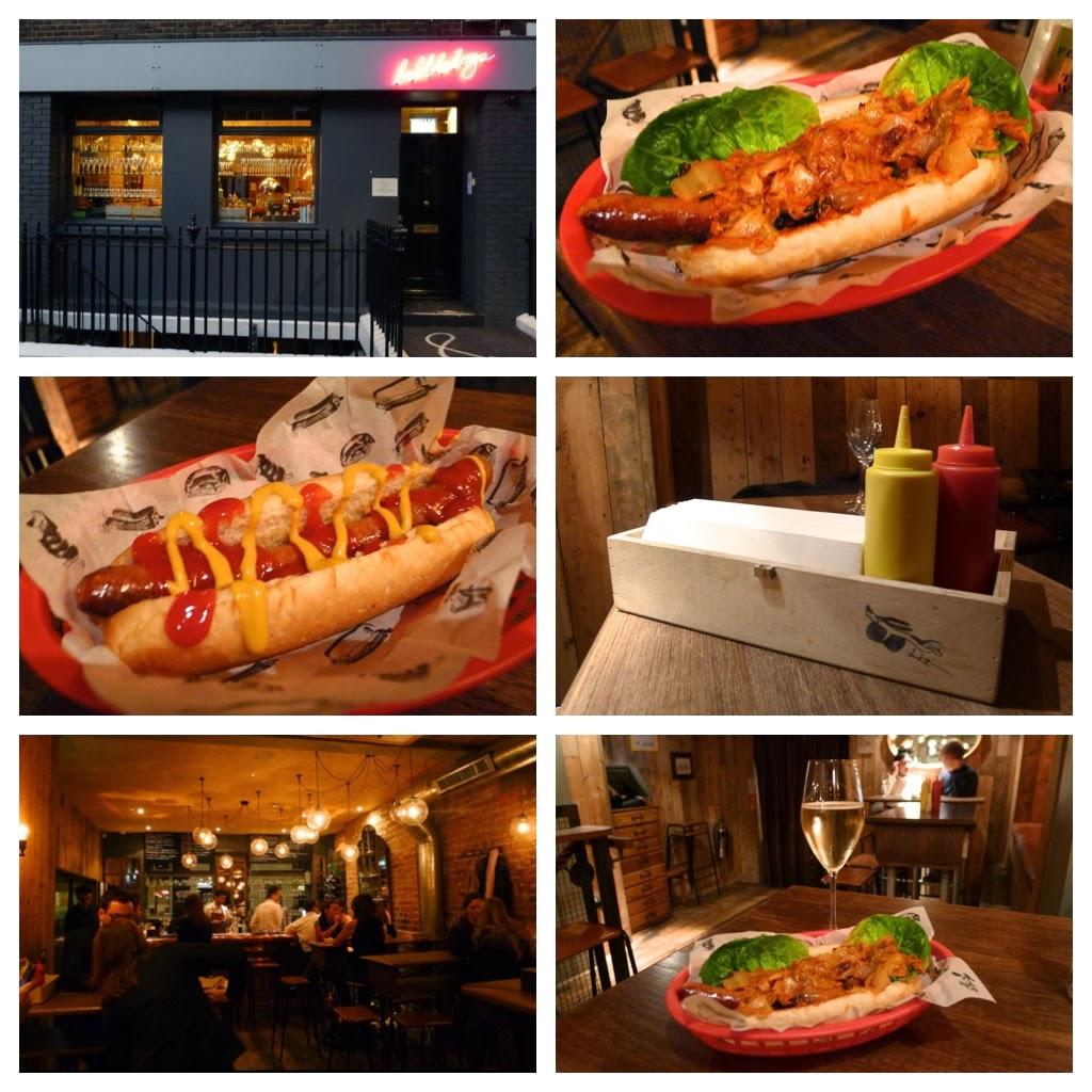 HUNGRY HOSS: Bubbledogs & Bubbledogs Kitchen Table, London