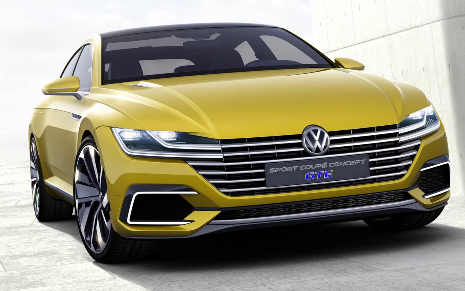 Vw Sport Coupe Concept Gte Antecipa O Novo Cc E Design