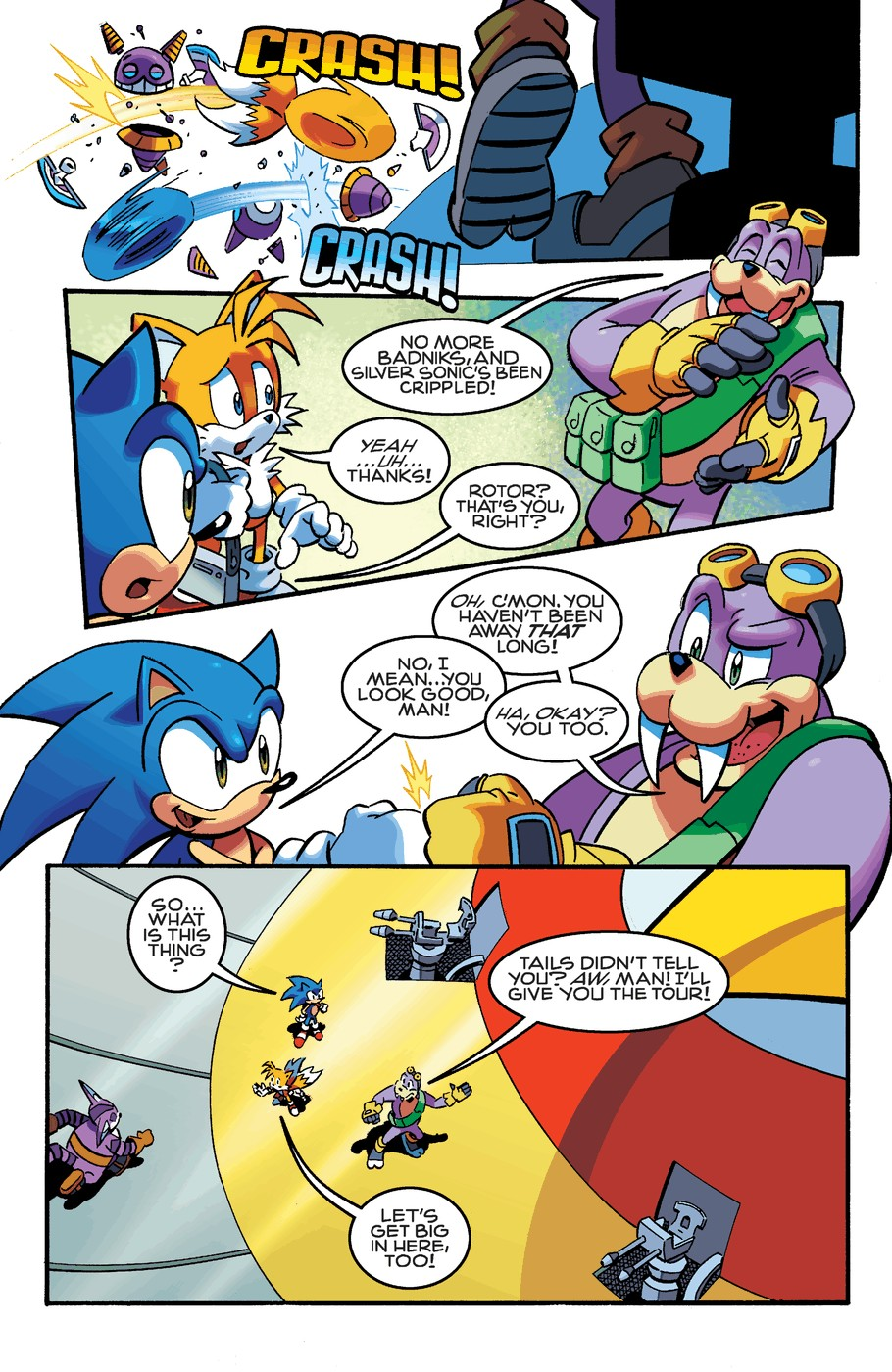 Read online Sonic The Hedgehog comic -  Issue #253 - 17