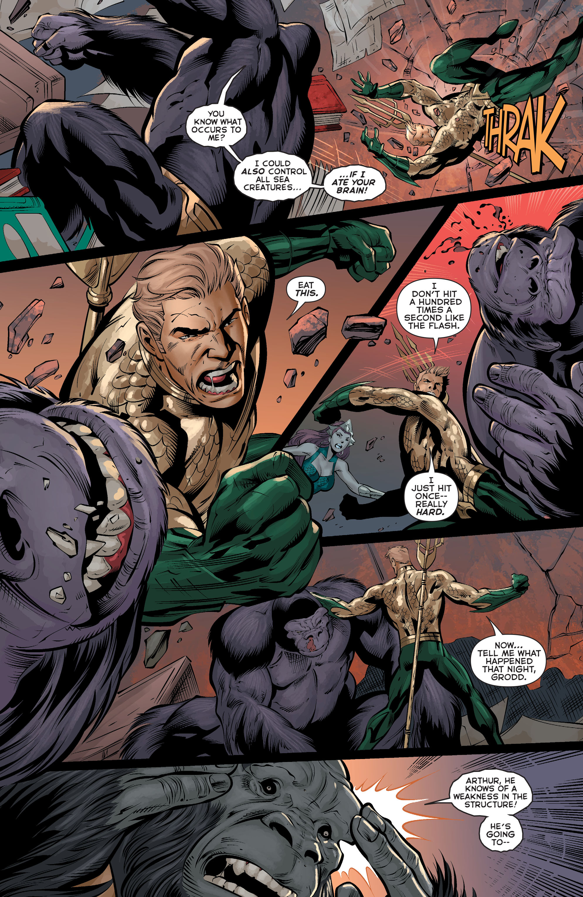 Read online Aquaman (2011) comic -  Issue #37 - 14