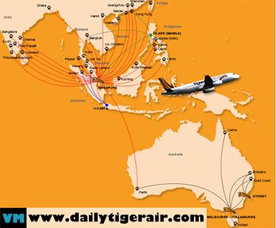 Vé máy bay Tiger Air khuyến mãi tổng hợp ngày 23/01/2016