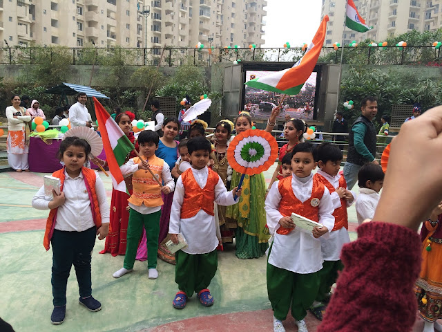 Residents of Paramount Floraville celebrated Republic Day
