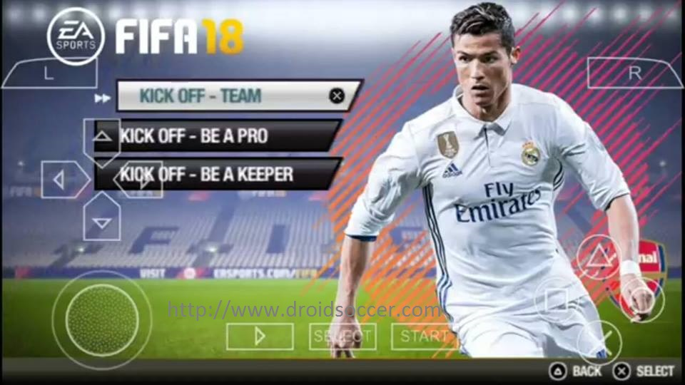 Download Free Fifa 18 for PSP New Patch | WARKOP GAME