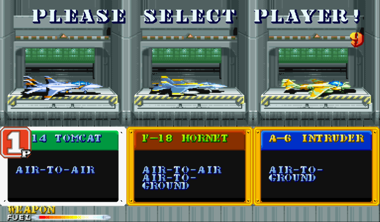 Carrier Air Wing (CPS1) - Download Game PS1 PSP Roms Isos ...