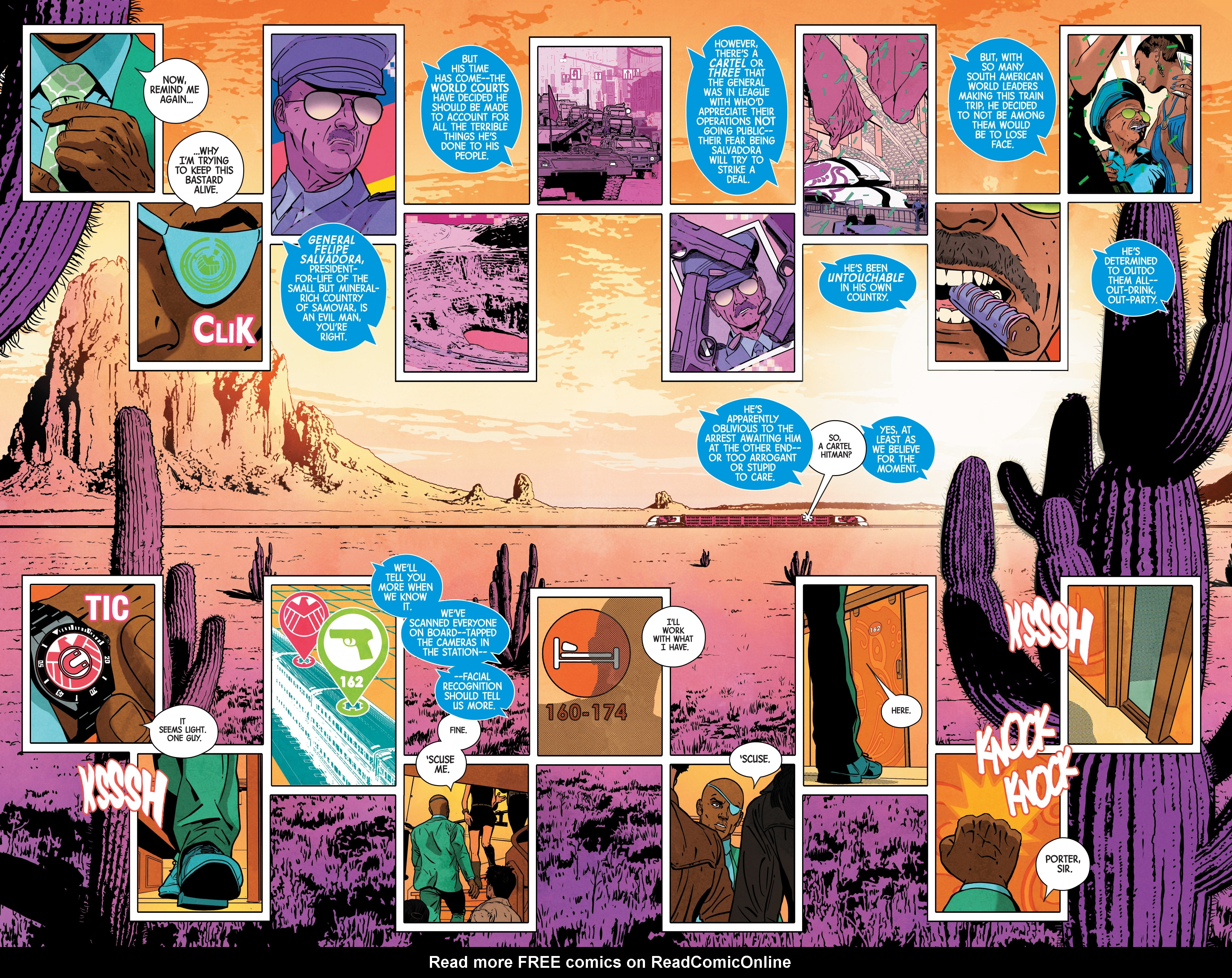 Read online Nick Fury comic -  Issue #3 - 7