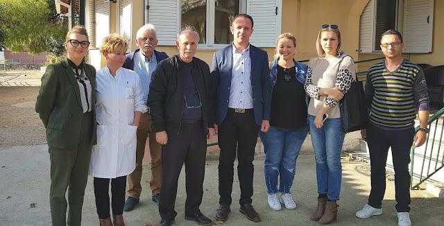 Επίσκεψη του υποψηφίου Δημάρχου Ηγουμενίτσας κ. Γιάννη Κ. Γόγολου στο γηροκομείο Ηγουμενίτσας