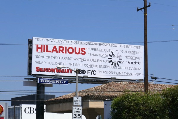 Silicon Valley 2018 Emmy FYC billboard