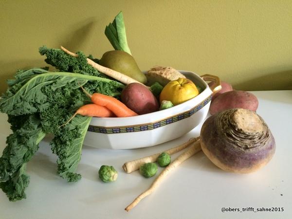 Gemüseeintopf mit Gänseklein
