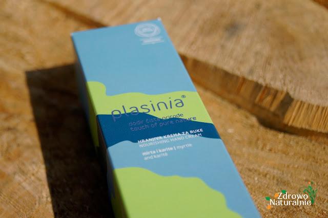Plasinia - Nourishing Hand Cream - Odżywczy krem do rąk z esencją mirtu oraz nierafinowanym masłem shea karite - 75 ml