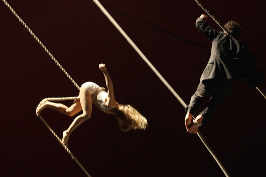 Christmas Comes Early: NoFit State Circus Presents BIANCO for the Southbank Centre's Winter Festival