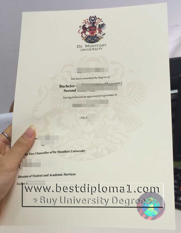 DMU degree certificates mill