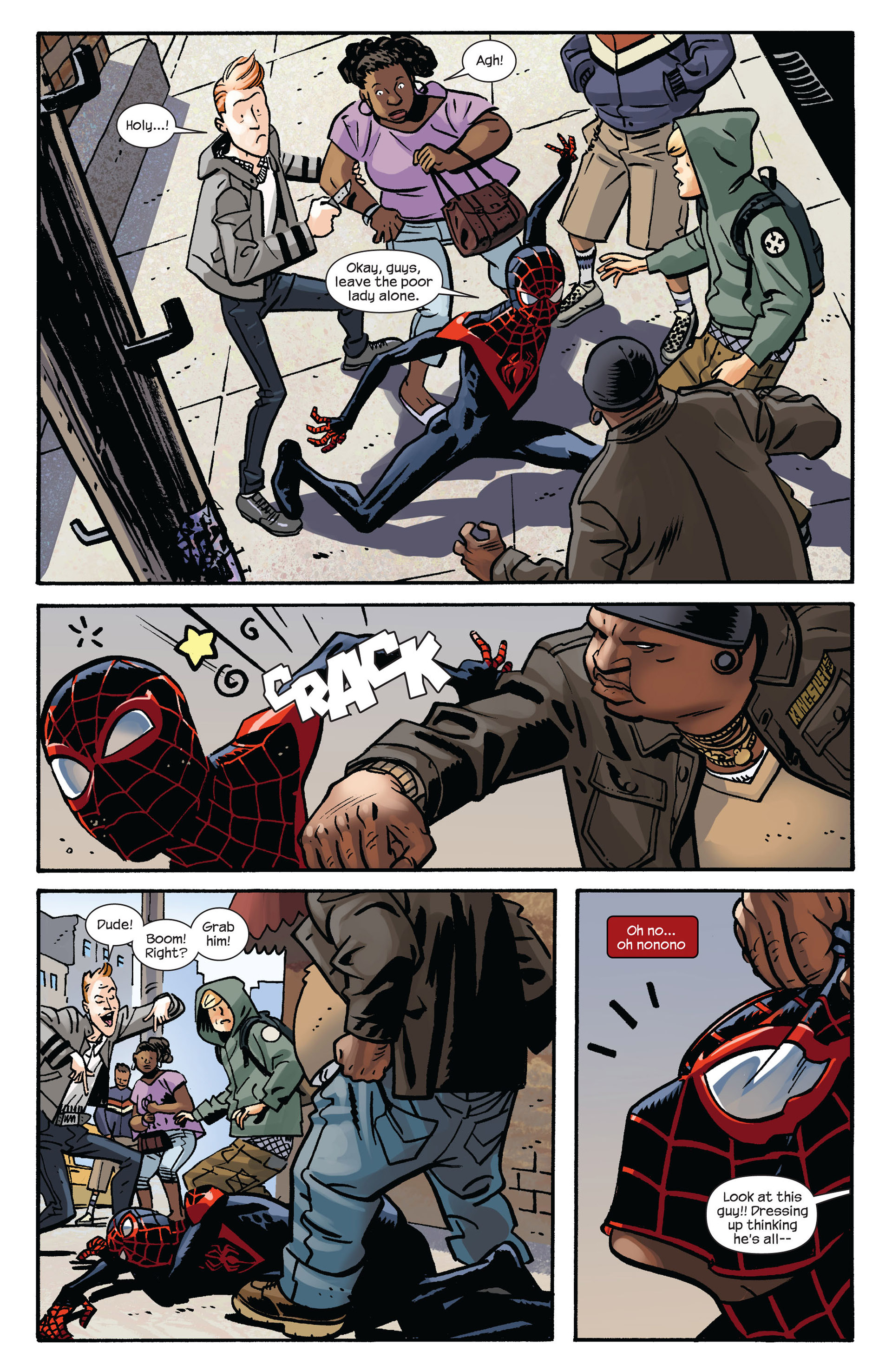 Read online Ultimate Comics Spider-Man (2011) comic -  Issue #6 - 7