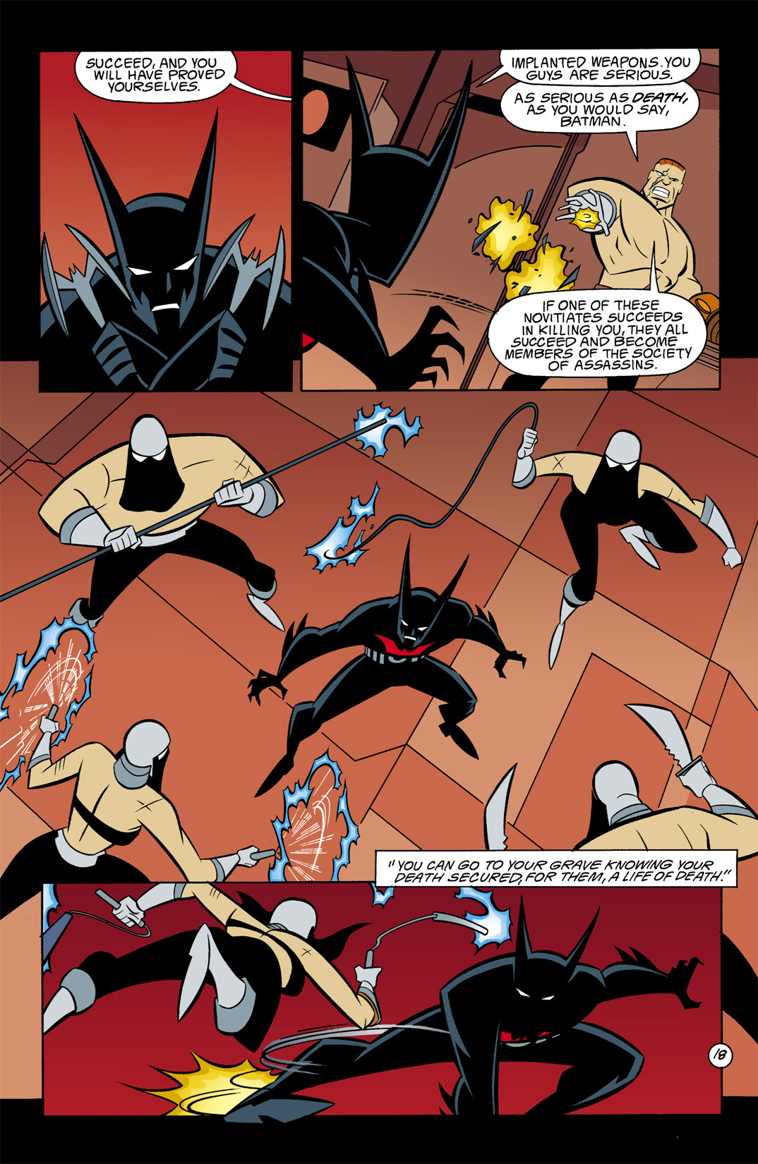 Batman Beyond [II] Issue #9 #9 - English 19