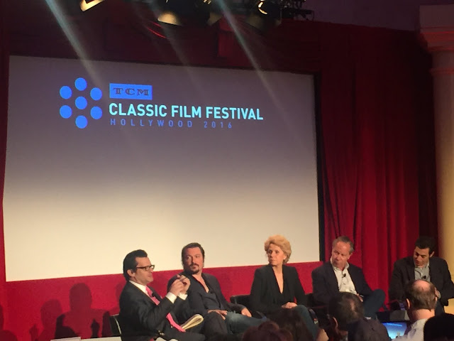 Mankiewicz, Vanderbilt, Mapes, Bradlee Jr. and Singer at TCM Classic Film Festival
