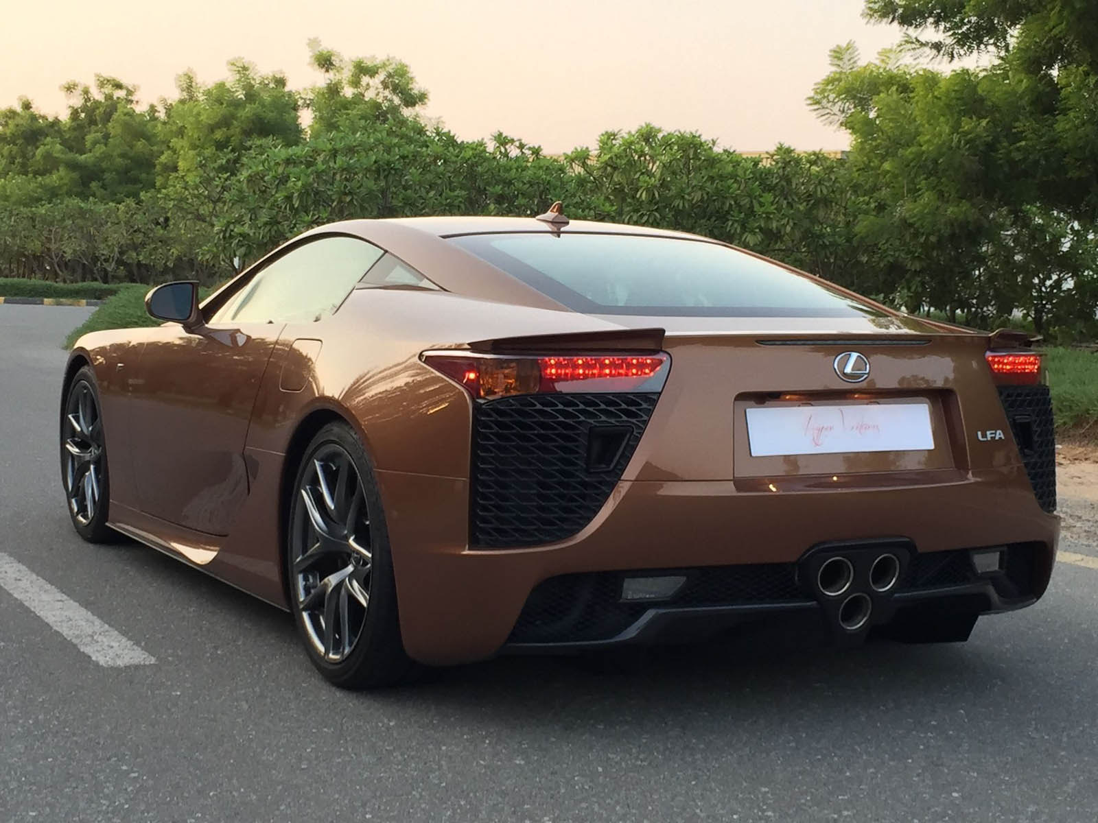 what would you say to a brown lexus lfa for $645k?