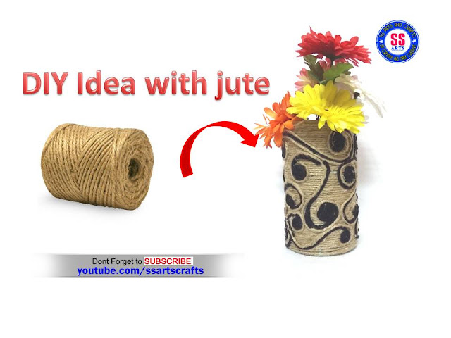 Here is how to make jute wall hangings,how to make jute wall decor,how tomake jute show pieces,jute bags,jute show pieces,jute gift boxces,jute jewellery boxxes,how to make jute flower vase,how to make jute pot decoration ideas,crafts with jute,how to make jute lamps,how to make jute fruits bowl,jute hanging flower vase,how to make jute flower vase
