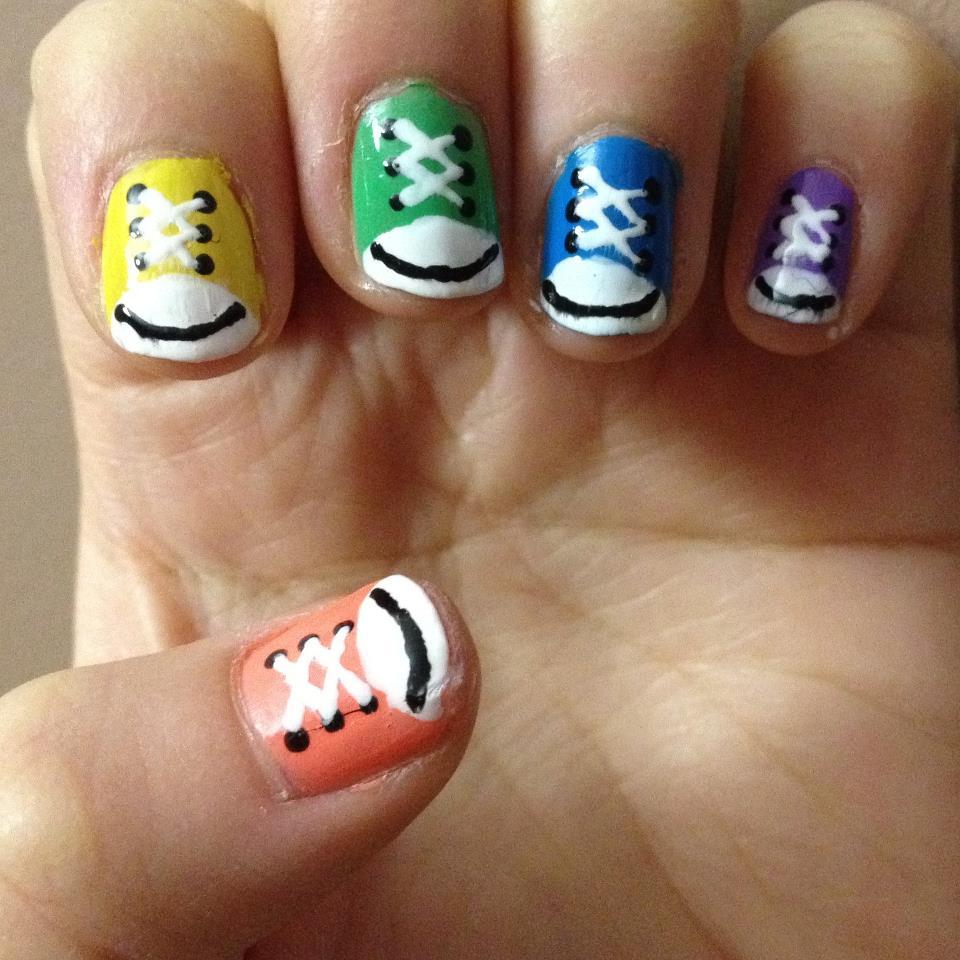 Simple Nail Art Designs Using: Nail Art Design 2014: Simple Nail Art Designs